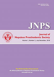 JNPS 2018, Volume 1 Number 2 (July - Dec)