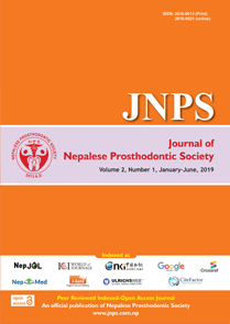 JNPS 2019, Volume 2 Number 1 (Jan - Jun)
